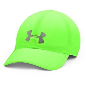 Under Armour Run Shadow Cap, hyper-green-pitch-gray-reflective